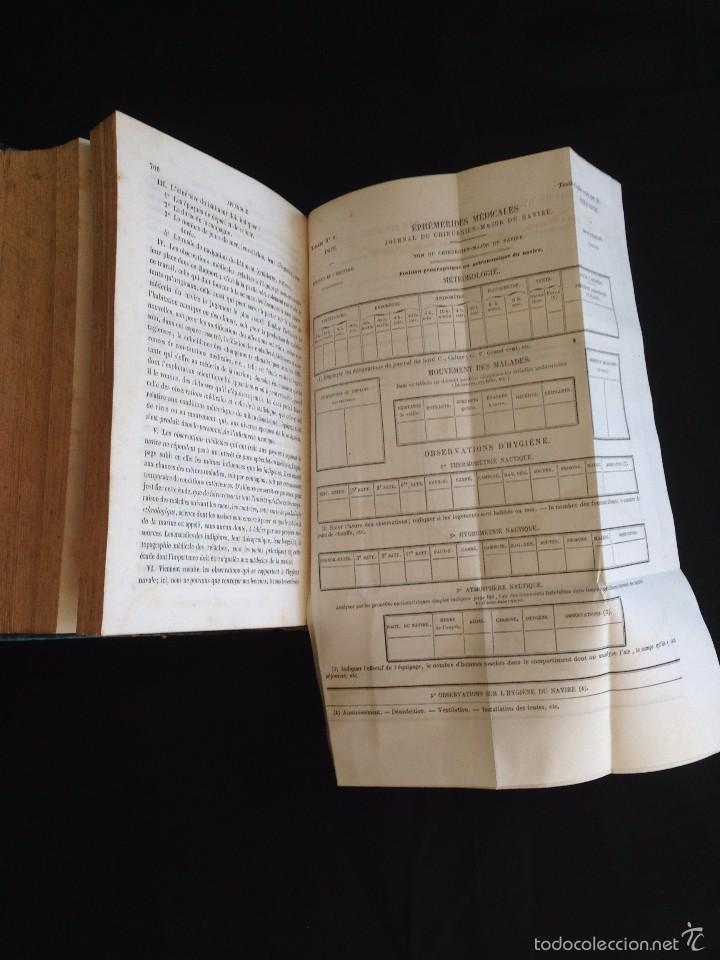 Libros antiguos: Medicina.TRAITÉ D´HYGIÈNE NAVALE ou de L´Influence des conditions physiques.J.-B. FOSSAGRIVE 1856 - Foto 3 - 55578386