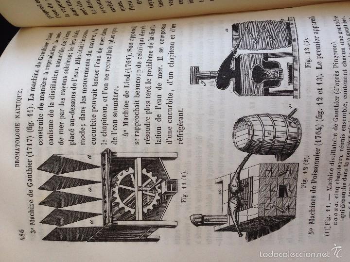 Libros antiguos: Medicina.TRAITÉ D´HYGIÈNE NAVALE ou de L´Influence des conditions physiques.J.-B. FOSSAGRIVE 1856 - Foto 5 - 55578386