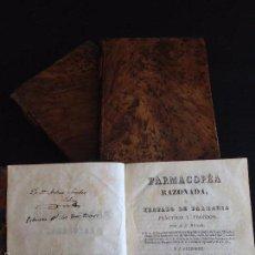 Libros antiguos: MEDICINA. FARMACOPEA RAZONADA O TRATADO DE FARMACIA PRÁCTICO Y TEÓRICO, N.E. HENRY- G. GUIBOURT 1830. Lote 55580222