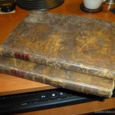Libros antiguos: EL HOMBRE EN LA PRIMERA EPOCA DE SU VIDA, POR DON PASCUAL MORA, TOMOS PRIMERO Y TERCERO, MADRID 1827. Lote 55882488