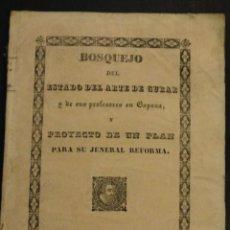 Libros antiguos: ESTADO DEL ARTE DE CURAR, VALENCIA 1836. Lote 56081053