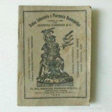 Libros antiguos: LIBRO ANTIGUO FARMACIA HOMEOPATIA BRASIL 1929 ALMEIDA CARDOSO BOTICA. Lote 166123381