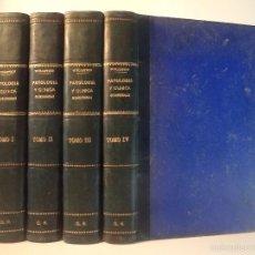 Libros antiguos: TRATADO DE PATOLOGÍA Y CLÍNICA QUIRÚRGICAS. VOLÚMENES I-II-III-IV: OBRA COMPLETA. WULLSTEIN Y WILMS.. Lote 57119858