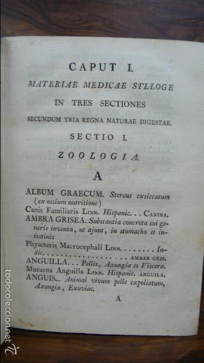 Libros antiguos: PHARMACOPOEA HISPANA. 1817. - Foto 3 - 71154686