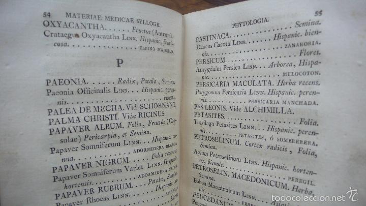 Libros antiguos: PHARMACOPOEA HISPANA. 1817. - Foto 4 - 71154686