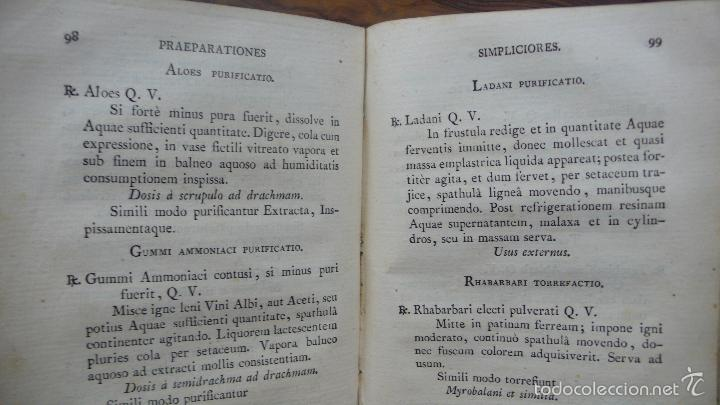 Libros antiguos: PHARMACOPOEA HISPANA. 1817. - Foto 5 - 71154686