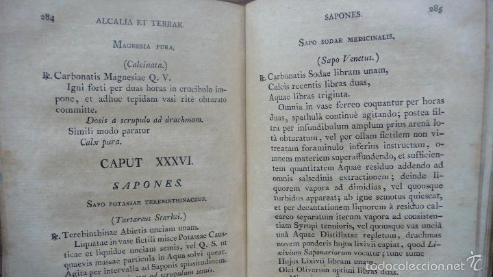 Libros antiguos: PHARMACOPOEA HISPANA. 1817. - Foto 6 - 71154686