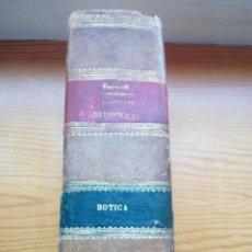 Libros antiguos: DORVAULT, BOTICA LA OFICINA DE FARMACIA.PRIMERA EDICION.. Lote 57719017