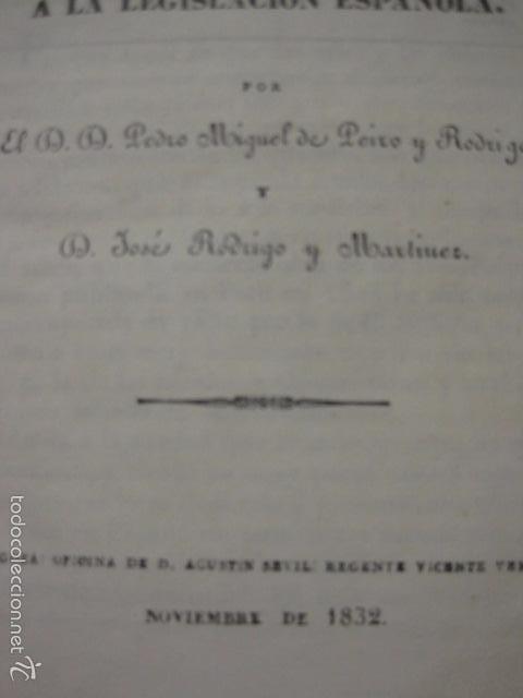 Libros antiguos: ELEMENTOS DE MEDICINA Y CIRUJIA LEGAL-PEIRO RODRIGO-ZARAGOZA AÑO 1832-DESPLEGABLES-VER FOTOS-(XL-50) - Foto 2 - 58191781