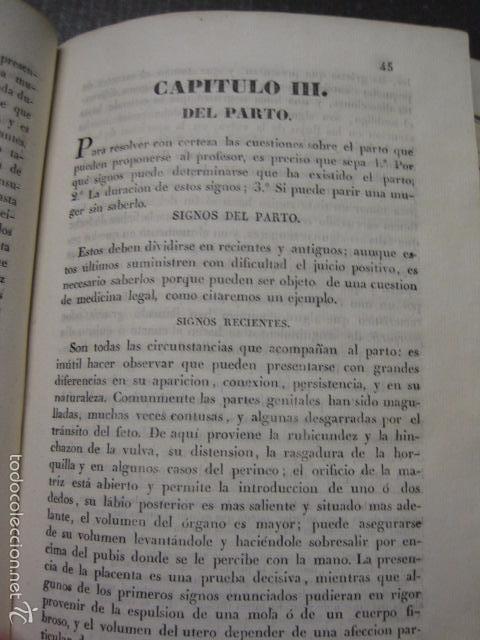 Libros antiguos: ELEMENTOS DE MEDICINA Y CIRUJIA LEGAL-PEIRO RODRIGO-ZARAGOZA AÑO 1832-DESPLEGABLES-VER FOTOS-(XL-50) - Foto 8 - 58191781