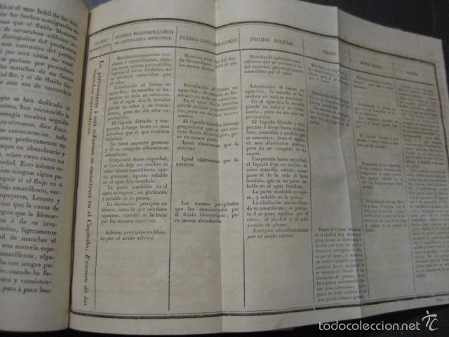 Libros antiguos: ELEMENTOS DE MEDICINA Y CIRUJIA LEGAL-PEIRO RODRIGO-ZARAGOZA AÑO 1832-DESPLEGABLES-VER FOTOS-(XL-50) - Foto 9 - 58191781