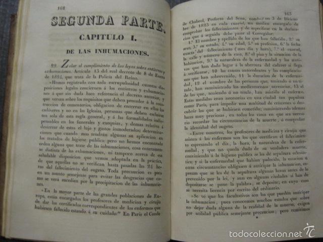 Libros antiguos: ELEMENTOS DE MEDICINA Y CIRUJIA LEGAL-PEIRO RODRIGO-ZARAGOZA AÑO 1832-DESPLEGABLES-VER FOTOS-(XL-50) - Foto 11 - 58191781
