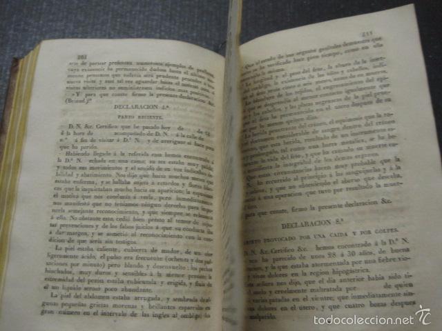 Libros antiguos: ELEMENTOS DE MEDICINA Y CIRUJIA LEGAL-PEIRO RODRIGO-ZARAGOZA AÑO 1832-DESPLEGABLES-VER FOTOS-(XL-50) - Foto 13 - 58191781