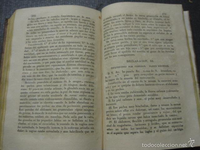 Libros antiguos: ELEMENTOS DE MEDICINA Y CIRUJIA LEGAL-PEIRO RODRIGO-ZARAGOZA AÑO 1832-DESPLEGABLES-VER FOTOS-(XL-50) - Foto 14 - 58191781