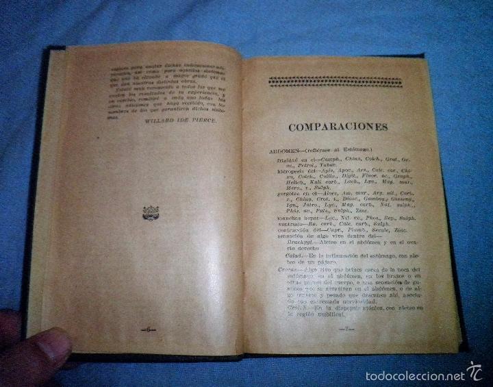 Libros antiguos: MATERIA MEDICA HOMEOPATICA - AÑO 1925 - DR.WILLARD IDE PIERCE · MUY RARO. - Foto 3 - 246485110