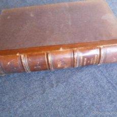 Libros antiguos: ETUDES DE MEDICINE HOMOEOPATHIQUE HAHNEMANN 1855 HOMEOPATÍA. Lote 58766928