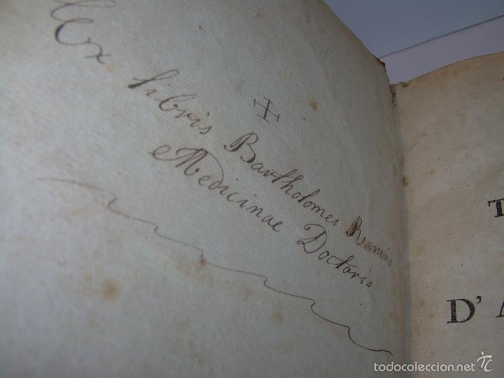 Libros antiguos: LIBRO TAPAS DE PIEL......TRATADO COMPLETO DE ANATOMIA (FRANCES).......AÑO. 1.775 - Foto 4 - 59072490