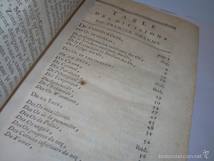 Libros antiguos: LIBRO TAPAS DE PIEL......TRATADO COMPLETO DE ANATOMIA (FRANCES).......AÑO. 1.775 - Foto 8 - 59072490