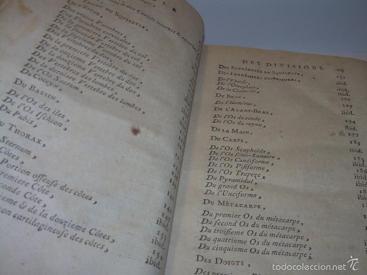 Libros antiguos: LIBRO TAPAS DE PIEL......TRATADO COMPLETO DE ANATOMIA (FRANCES).......AÑO. 1.775 - Foto 9 - 59072490