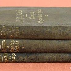 Libros antiguos: 7905 - ÉDITEURS RUEFF ET COMPAGNIE. 3 VOLÚMENES. (VER DESCRIPCIÓN). VV. AA. 1894.. Lote 59898483