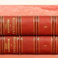Libros antiguos: 7921 - ELEMENTOS DE PATOLOGÍA. TOMOS I Y II(VER DESCRIP). MOYNAC. EDIT. MOYA Y PLAZA. 1880.. Lote 59975875