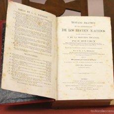 Libros antiguos: 7923 - ENFERMEDADES DE LOS RECIEN NACIDOS. E. BOUCHUT. EDIT. BAILLY-BAILLIERE. 1879.. Lote 59977739