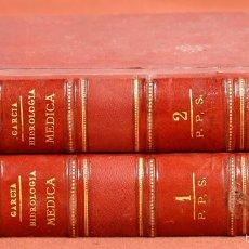 Libros antiguos: 7936 - HIDROLOGÍA MÉDICA. 2 TOMOS(VER DESCRIPCIÓN). ANASTASIO GARCÍA. IMP. S. CEREZO. 1875.. Lote 60049355