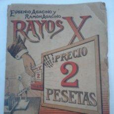 Libros antiguos: RAYOS X Y SUS APLICACIONES. AUTORES. EUGENIO AGACINO Y RAMON AGACINO. CADIZ 1910. Lote 60125347