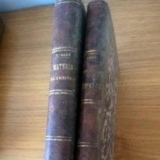 Libros antiguos: FARMACIA. LECCIONES DE FARMACÉUTICA VEGETAL + ESTUDIO DE MEDICAMENTOS MODERNOS. 1882-83. Lote 60169623