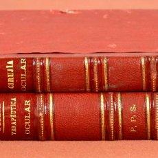Libros antiguos: 7942 - EDITOR CÁRLOS BAILLY-BAILLIERE. 2 VOLÚMENES.(VER DESCRIPCIÓN). WECKER. 1879/1881.. Lote 60216939