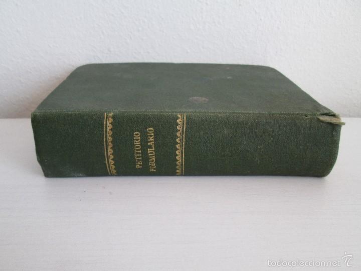 Libros antiguos: PETITORIO - FORMULARIO. MEDICO - FARMACEUTICO. FARMACIAS MILITARES DEL EJERCITO EPAÑOL. 1907 - Foto 3 - 60437991