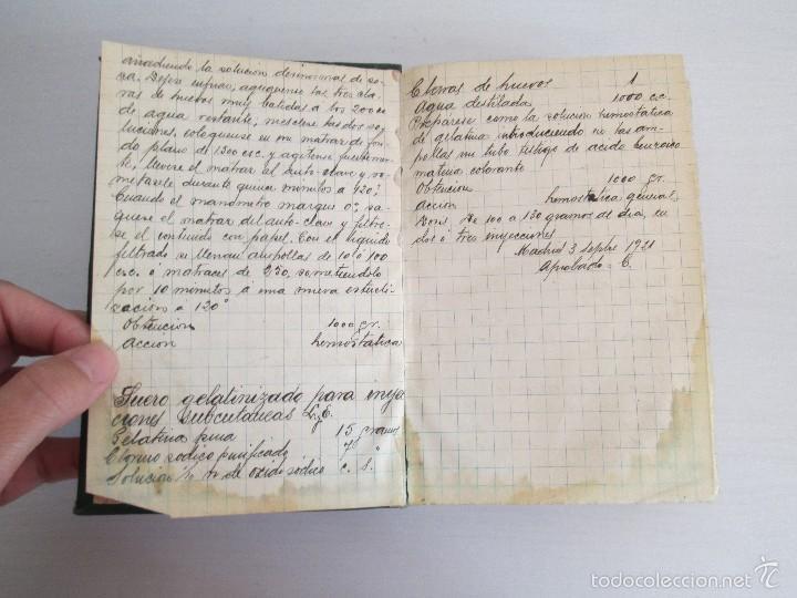 Libros antiguos: PETITORIO - FORMULARIO. MEDICO - FARMACEUTICO. FARMACIAS MILITARES DEL EJERCITO EPAÑOL. 1907 - Foto 10 - 60437991