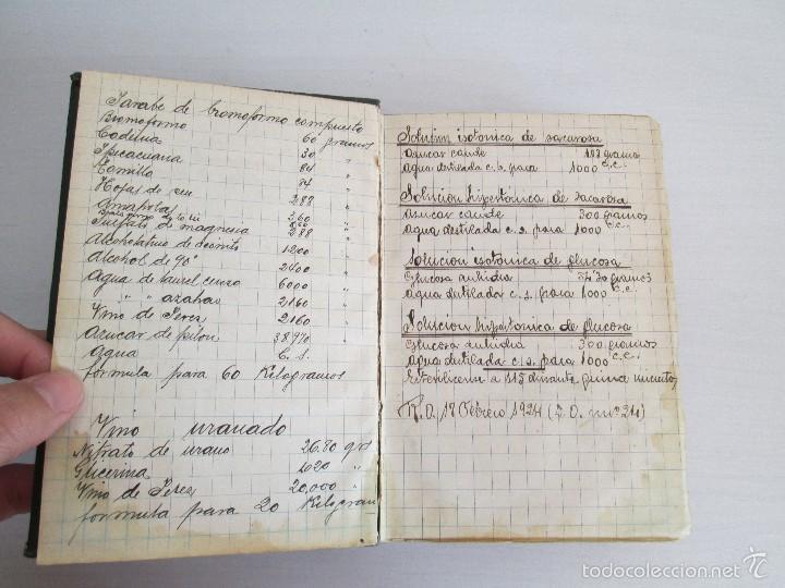 Libros antiguos: PETITORIO - FORMULARIO. MEDICO - FARMACEUTICO. FARMACIAS MILITARES DEL EJERCITO EPAÑOL. 1907 - Foto 11 - 60437991