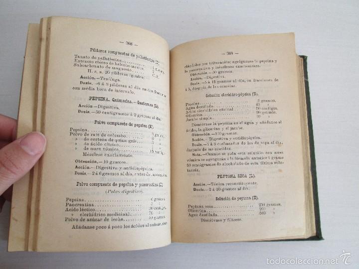 Libros antiguos: PETITORIO - FORMULARIO. MEDICO - FARMACEUTICO. FARMACIAS MILITARES DEL EJERCITO EPAÑOL. 1907 - Foto 17 - 60437991