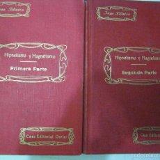 Libros antiguos: HIPNOTISMO Y MAGNETISMO. JEAN FLIATRE. 2VOLUMENES. OBRA COMPLETA.. Lote 61057851
