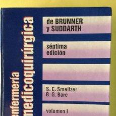 Libros antiguos: ENFERMERÍA MEDICOQUIRÚRGICA. 2 TOMOS. INTERAMERICANA.. Lote 61896756