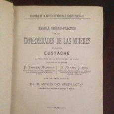 Libros antiguos: ENFERMEDADES DE LAS MUJERES, EUSTACHE. Lote 62731544