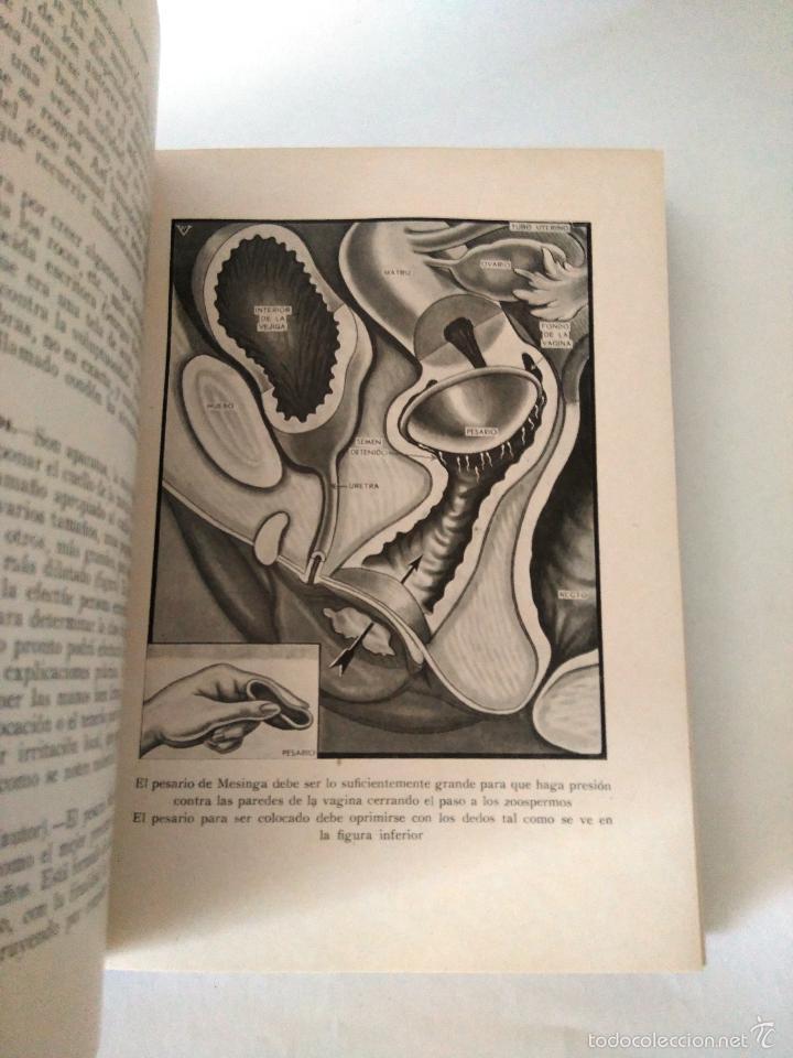 Libros antiguos: GUIA DEL PROBLEMA SEXUAL - DOCTOR VANDER - 1935 - 333 ILUSTRACIONES ORIGINALES - 2ª EDICION - Foto 6 - 62913160