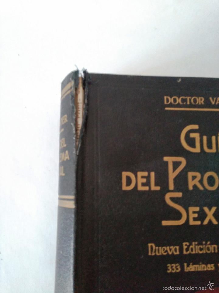 Libros antiguos: GUIA DEL PROBLEMA SEXUAL - DOCTOR VANDER - 1935 - 333 ILUSTRACIONES ORIGINALES - 2ª EDICION - Foto 8 - 62913160