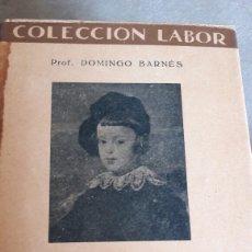 Libros antiguos: EL DESENVOLVIMIENTO DEL NIÑO. DOMINGO BARNÉS. LABOR. 1933.. Lote 63442627