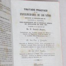 Libros antiguos: TRATADO DE TERAPÉUTICA OMS Y GARRIGOLAS FERRERAS ESPAÑA MEDÍCINA 1846. Lote 48314708