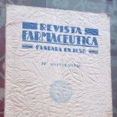 Libros antiguos: REVISTA FARMACÉUTICA - BUENOS AIRES.- AÑO 1932. Lote 64886383