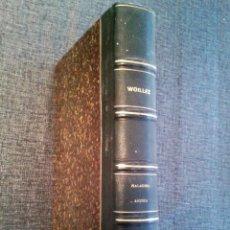 Libros antiguos: TRATADO CLÍNICO DE LAS ENFERMEDADES AGUDAS DE LOS ÓRGANOS RESPIRATORIOS. E.J. WOILLEZ (PARIS, 1872). Lote 67688325