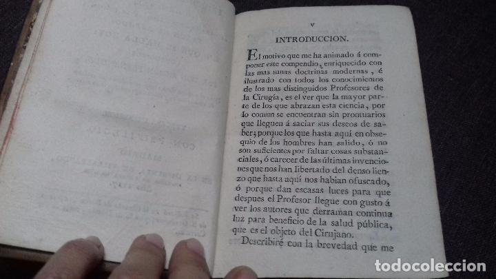 Libros antiguos: PRINCIPIOS CIRUGÍA GENERAL. R. FERNÁNDEZ. MADRID 1817. - Foto 2 - 68180529