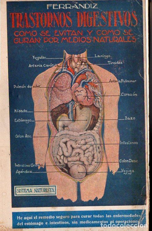 FERRANDIZ : TRASTORNOS DIGESTIVOS (1933) (Libros Antiguos, Raros y Curiosos - Ciencias, Manuales y Oficios - Medicina, Farmacia y Salud)