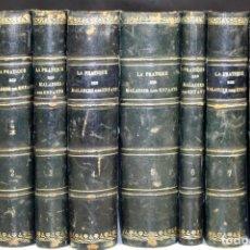 Libros antiguos: 8240 - MALADIES DES ENFANTS. 8 TOMOS(VER DESCRIP). VV. AA. EDIT. BAILLIÈRE. 1909/1922.. Lote 68448965