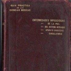 Libros antiguos: LETULLE : GUIA PRÁCTICA DE CIENCIAS MÉDICAS - ENFERMEDADES INFECCIOSAS - 1893. Lote 68606129