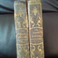 Libros antiguos: 1848. NUEVO MANUAL DE MEDICINA HOMEOPATICA POR EL DR. G.H.G. JHAR. 4 TOMOS HOMEOPATIA. Lote 68678377
