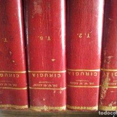 Libros antiguos: CIRUJIA-TRATADO TEORICO-PRACTICO DE PATOLOGIA Y CLINICA QUIRURGICAS-DR.W.W.KEEN-SALVAT. Lote 69829821