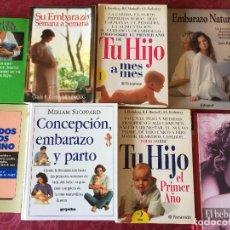 Libros antiguos: LOTE LIBROS EMBARAZO Y NIÑO. Lote 69895869